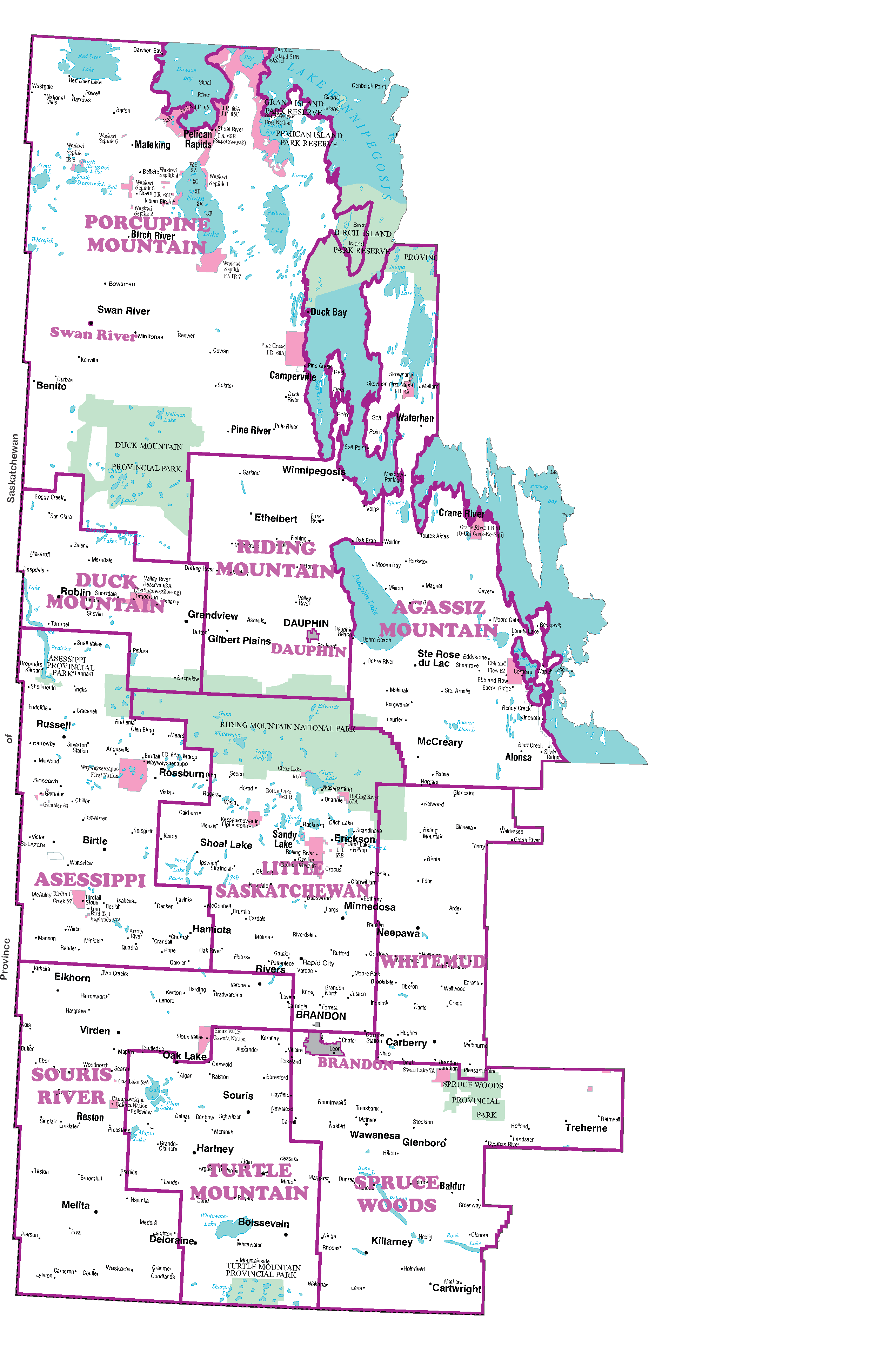 Planning Districts 2020 nobackground